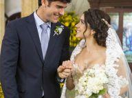 Últimos capítulos de 'Haja Coração': veja fotos do casamento de Shirlei e Felipe
