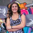 Lívian Aragão negou namoro com o DJ José Marcos, de 17 anos