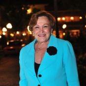 Nicette Bruno festeja 81 anos no ar em 'Joia Rara' no papel de Santinha