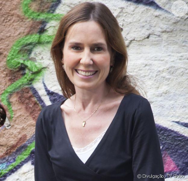 Susana Naspolini usou touca térmica para evitar queda dos cabelos durante câncer