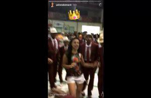 Carnaval: Paloma Bernardi exibe rebolado durante ensaio da Grande Rio. Vídeo!