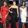 Melania Trump tem um estilo refinado e aposta em looks elegantes, sempre valorizando sua boa forma