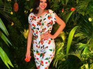 Bruna Marquezine, com barriga de fora, exibe boa forma em look estampado. Fotos!
