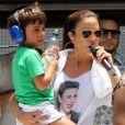 Ivete Sangalo não fala palavrão desde que o filho, Marcelo, nasceu, como contou no 'Vídeo Show' desta quinta-feira, dia 10 de novembro de 2016