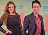Ellen Rocche nega romance com Johnnas Oliva, colega de 'Haja Coração': 'Amigos'