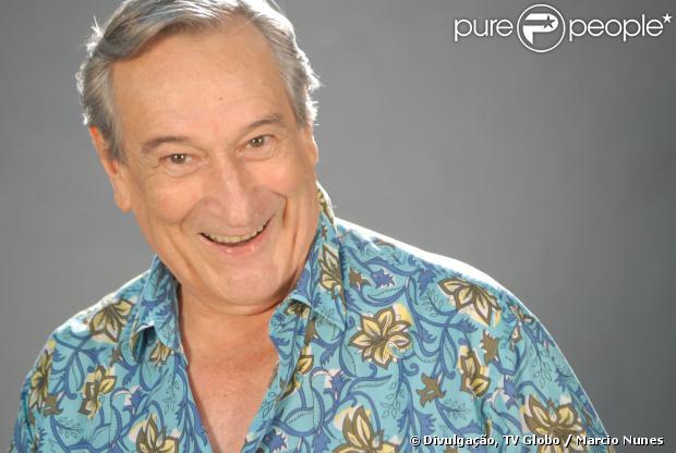 Paulo Goulart celebra 81 anos nessa quinta-feira, 9 de janeiro de 2014