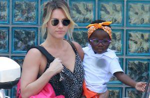 Giovanna Ewbank dança e beija filha, Títi, em Noronha: 'Minha princesa'. Vídeo!
