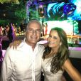 Ticiane Pinheiro e Roberto Justus também curtem as férias em Miami