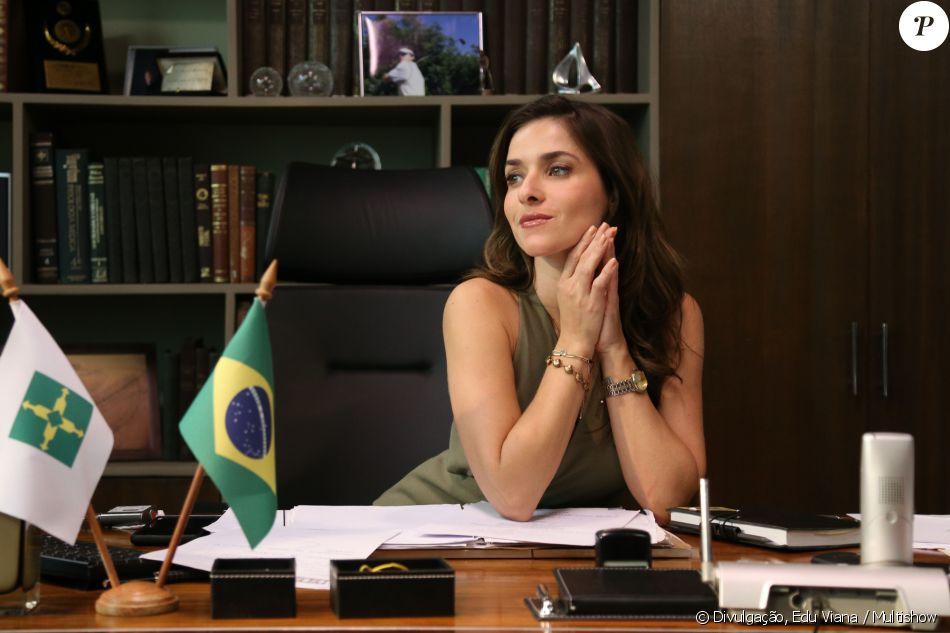Monique Alfradique viverá sua primeira protagonista como Ilde, em 'A Secretária do Presidente', do Multishow, e sofrerá abuso sexual