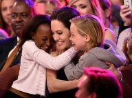 Angelina Jolie enche filhos de presentes após separação de Brad Pitt: 'Carinho'