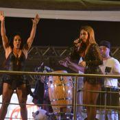 Ivete Sangalo brinca com Scheila Carvalho em show: 'Queria ter o corpo dela!'
