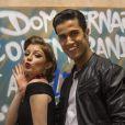 Giulia Gayoso e Fábio Scalon vivem par romântico em 'Malhação'
