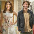 Colegas de elenco na novela 'Haja Coração', Sabrina Petraglia e Nando Rodrigues curtem férias em Orlando, nos Estados Unidos, com a namorada do ator, Yasmin Volpato