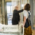 No ar em 'A Lei do Amor', como Ana Luiza, Bianca celebrou dividir a cena com Vera Holtz