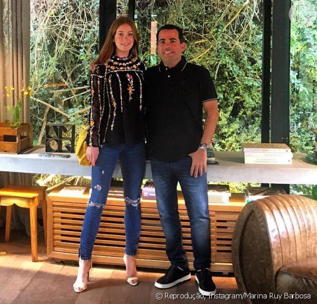 Marina Ruy Barbosa prestigia amigo arquiteto na Casa Cor nesta sexta-feira, dia 18 de novembro de 2016