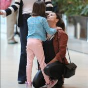 Giovanna Antonelli se diverte em passeio com as filhas, Antonia e Sofia. Fotos!