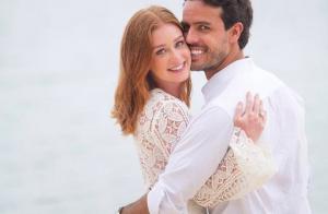 Noivo de Marina Ruy Barbosa se derrete ao falar da atriz: 'Mulher da minha vida'