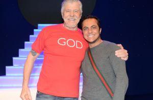 Solteiro, Thammy Miranda prestigia Miguel Falabella no teatro: 'Incrível'. Fotos