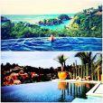 Lea Michele compartilha fotos de suas férias no México