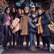 Gloria Pires curte férias em Nova York com o marido e os filhos. Veja fotos