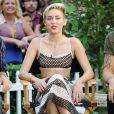 Miley Cyrus usa conjunto Marc Jacobs no programa Good Morning America, em 2013