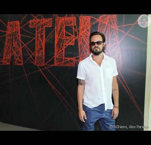 Paulinho Vilhena se reúne com elenco de 'A teia' para divulgar a série que estreia dia 28 de janeiro