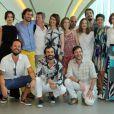 Elenco da minissérie 'A teia'; suspense policial estreia na Globo dia 28 de janeiro de 2014