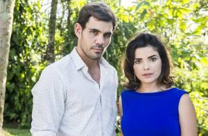 'Amor à Vida': pensando ter matado Ninho, Aline se choca ao vê-lo na delegacia