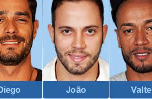 'BBB 14': Diego, João e Valter formam o primeiro paredão do reality show