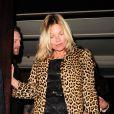 Kate Moss comemorou seu aniversário de 40 anos no Mayfair 34, em Londres