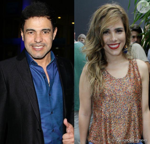 Zezé Di Camargo, após indireta, avisa que já parabenizou Wanessa por aniversário nesta quarta-feira, 28 de dezembro de 2016