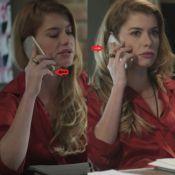 Falha em 'Rock Story': Alinne Moraes comete gafe com celular em novela