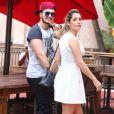 Luan Santana reata namoro com Jade Magalhães e casal vai passar Réveillon junto. Informação foi confirmada por fonte do Purepeople