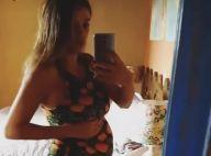 Rafa Brites, grávida de 9 meses, faz quadradinho com funk: 'Bora, Rocco'. Vídeo!