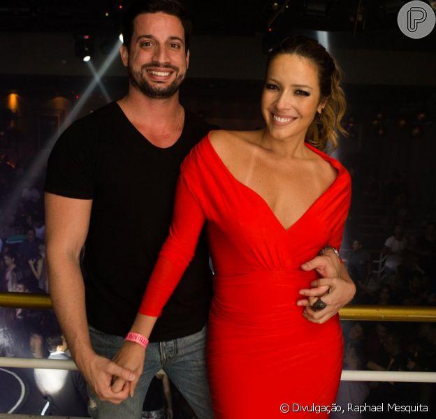 Renata Dominguez, da novela 'Sol Nascente', curte festa no Rio com novo affair