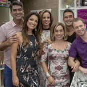 André Marques se despede do 'É de Casa' e Zeca Camargo brinca: 'Livre de você'