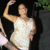 Susana Vieira ousa com vestido transparente e decotado para o Réveillon. Fotos!