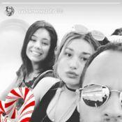 Sasha posa no avião com amigos após réveillon em Trancoso: 'Voltando para o Rio'