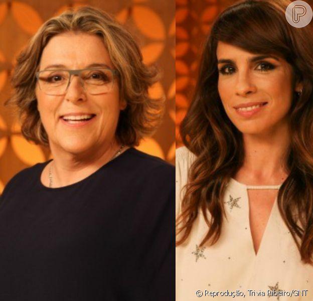 Maria Ribeiro e Barbara Gancia se elogiam após rumores de briga no 'Saia Justa'