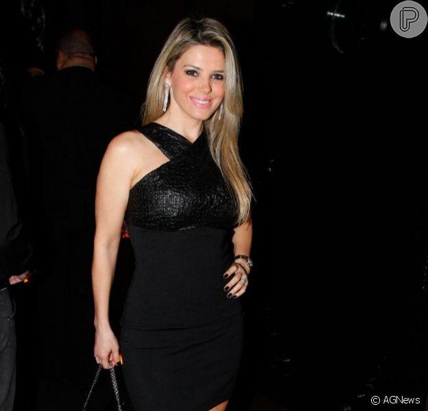 Mari Alexandre garantiu, em entrevista ao 'TV Fama', que não é mais apaixonada por seu ex-marido, Fábio Jr.
