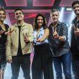 Victor e Leo, Carlinhos Brown e Ivete Sangalo são os técnicos do 'The Voice Kids', cuja nova temporada estreia domingo, 8 de janeiro de 2017, com a apresentação de André Marques