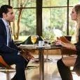 Gustavo (Carlo Porto) termina seu relacionamento com Nicole (Dani Gondim), na novela 'Carinha de Anjo'