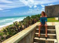 Marina Ruy Barbosa emenda viagem pelo Nordeste e viaja para Alagoas. Foto!