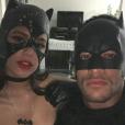 Neymar e Bruna Marquezine posaram juntos na festa à fantasia de Gabriel Medina