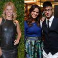 Carolina Dieckmann exaltou o romance entre Bruna Marquezine e Neymar nesta quinta-feira, 5 de janeiro de 2017