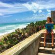 Marina Ruy Barbosa emendou a viagem de férias em Barra de São Miguel, Alagoas