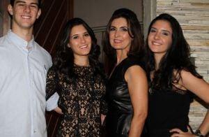 Filhas de Fátima Bernardes dão apoio a amigo internado após acidente: 'Torcendo'
