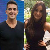 André Marques elogia Mari Palma no 'Encontro' e a deixa envergonhada: 'Linda'