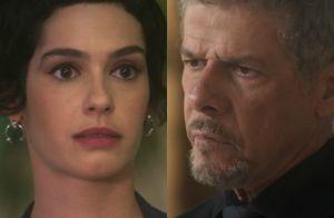 Capítulo desta 4ª da novela 'A Lei do Amor': Flávia diz a Tião que é sua filha