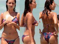Júlia Oristanio, ex de Rafael Vitti, exibe boa forma na praia com amigo. Fotos!